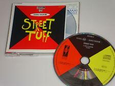 DOUBLE TROUBLE & THE REBEL MC STREET TUFF MAXI SINGLE CD 1989 4 TRACK/MIX