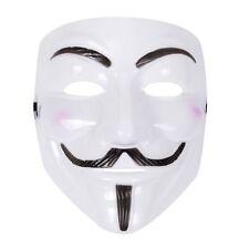 Unisexe Anonymous Guy Fawkes Masque 1605 La poudre à canon parcelle Halloween Déguisements Masques