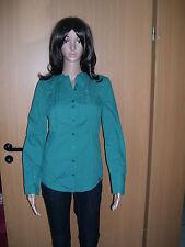 edc by esprit, Longbluse Bluse Stretch, grün, Gr. XS, S, M, XL, neu!