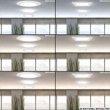 LED Panel Decken Einbau Strahler Alu Trafo Leuchten Wohnraum Raster Beleuchtung