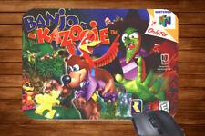 Retro Gaming Inspired Mouse Mat N64 Nintendo 64 Mario Doom Quake Gift