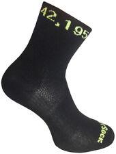 WrightSock Sportsocke -anti-blasen system- Socke schwarz - Marathon Stick 42,195