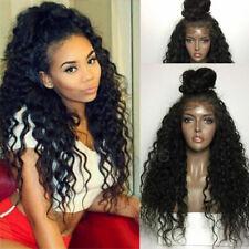 Curly Malaysian Virgin Human Hair Wig Silk Base Full Lace Wigs Natural Soft Hair