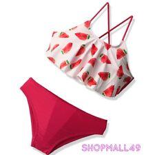 Girls Swimwear Swimsuit Bikini set Swimming Costume Tankini set Age 5-14 years