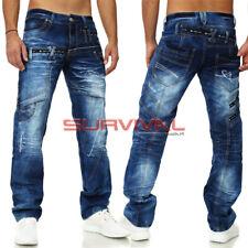 Mens New 100% Authentic Kosmo Lupo Jeans Designer Denim Sizes 31-32 35-36