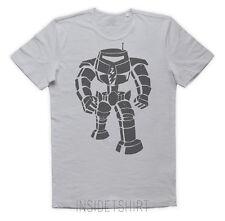MAGLIETTA SHELDON ROBOT maglia vintage bot comic Big Bang Theory T-SHIRT MAN
