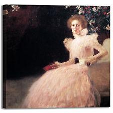Gustav Klimt Sonja Knips design quadro stampa tela dipinto telaio arredo casa