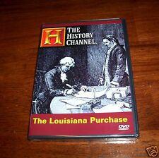 LOUISIANA PURCHASE Thomas Jefferson France Napoleon History Channel DVD NEW!