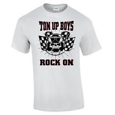 Ton Up Boys T-Shirt Cafe Racers T-Shirt Rockers T-Shirt Original MotorBiker Bike