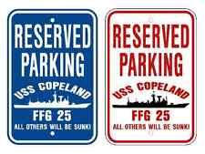 USS COPELAND FFG 25 Parking Sign US Navy Military USN12
