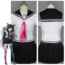 Danganronpa Dangan-ronpa Ibuki Mioda Dress Cosplay Costume School Uniform Outfit
