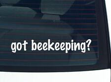got beekeeping? BEES BEE BEEKEEPER FUNNY DECAL STICKER ART WALL CAR CUTE