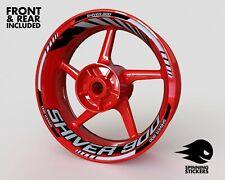 - Rim Stickers Sticker - Aprilia SHIVER 900/750 Wheel Stripes Decals Tape Tire