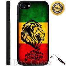 Singer Rasta Lion Custom Case For iPhone 6S 7 Plus Samsung Galaxy S7 S8 Plus