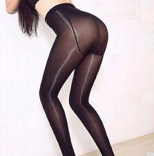 Women Satin Touch 8D 70D Tights High Gloss Shine Pantyhose Pantihose Crotch Sexy