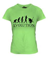 SOLDIER MORTAR EVOLUTION LADIES T-SHIRT TEE TOP GIFT COSTUME FANCY DRESS