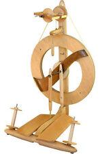 Kromski Clear Finished Fantasia Spinning Wheel & $40.00 in free bonus items