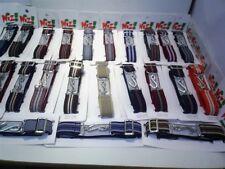 wiz brand elastic stripe trouser snake belts adults  fully adjustable 28 to 46