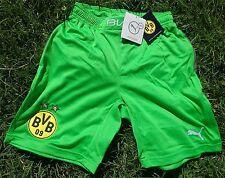 Borussia Dortmund Short Puma + Nuovo + pantaloni corti-BAMBINI KIDS VERDE BVB 1909