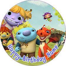EDIBLE Wallykazam Cake Topper Birthday Party Wafer Paper 19cm (uncut)