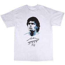 Diego Armando Maradona Camiseta 100% Algodón Fútbol Argentina leyenda Boca Juniors