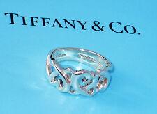 Tiffany & Co Paloma Picasso Argento Sterling Anello AMOREVOLE CUORI