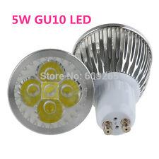 Ampoules à led 5W 10 20 50 100X haute puissance GU10 lumière jour blanc chaud spot lampe lumineux