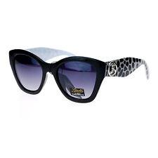 Giselle Lunettes Womens Sunglasses Designer Fashion Square Cateye Black