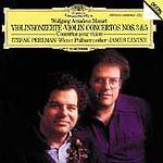 Wiener Philharmoniker [Orchestra: Mozart: Violin Concertos Nos.3 & 5  Audio CD
