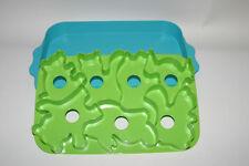 TUPPERWARE Jello Gelatin Animal Shape Mold Jigglers Wigglers Cookie Cutter Tray