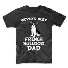 World's Best French Bulldog Dad Dog Owner T-Shirt