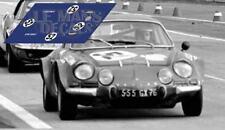 Calcas Alpine A110 Le Mans 1971 Test 52 1:32 1:24 1:43 1:18 64 87 slot decals