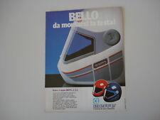 advertising Pubblicità 1983 CASCO BIEFFE B 84