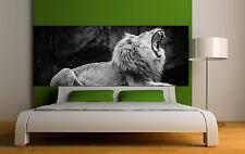 Sticker tête de lit décoration murale Lion réf 3661 (5 dimensions)