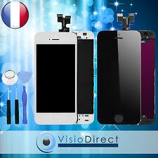 Ecran complet pour iPhone 5S noir ou blanc  vitre tactile + ecran LCD + outils