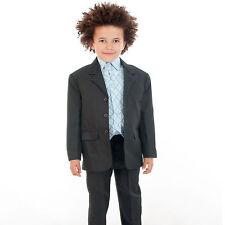 Nero Per Ragazzi Tuta Ragazzi suits RAGAZZI cheap suit 5 Pezzi Suit Wedding Pageboy BABY