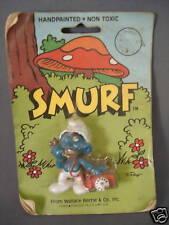 1982 Smurf Figure