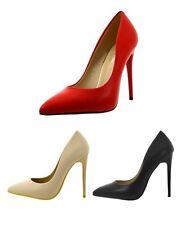 Scarpe donna decoltè con tacco spillo decollete tacchi alti scarpe estive aperte