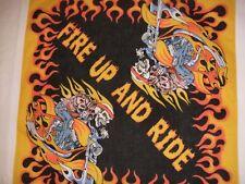 Neue Fire up and Ride Bandana du-Rag Hals Kopf Schal