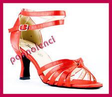 Scarpe ballo decollete 35 danza ROSSO Carmen MIB-07