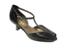 Comoda viola 1274 scarpa cinturino tacco medio donna