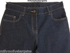 New Womens Marks & Spencer Blue Jeans Size 20 18 14 12 10 Long Medium Short