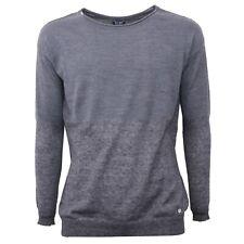 B3656 maglione donna ARMANI JEANS lana grigio sweater woman