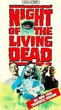 Night of the Living Dead (VHS, R, 1991) savini, classic, remake, romero, zombie,
