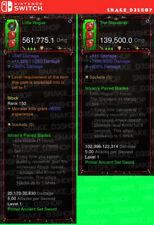 Diablo 3 Nintendo Switch - Modded PRIMAL Weapon Set - Istvan's Paired Blades