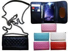 Wallet Handbag Case w Shoulder Chain Case For iPhone 6/6S/6+/6S+ iphone 7/7Plus