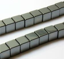 PREMIUM AAA QUALITY CUBE HEMATITE BEADS choose 8 mm 6mm 4mm