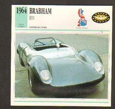 AUTOMOBILE Royaume-Uni / BRABHAM BT8 / FICHE de CARACTERISTIQUES