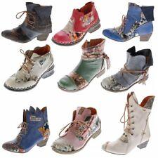 TMA B-Ware Leder Stiefeletten Stiefel Damen Schuhe 5161 6106 6188 5195 7011 5155