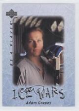 1995-96 Upper Deck Be a Player #212 Adam Graves New York Rangers Hockey Card